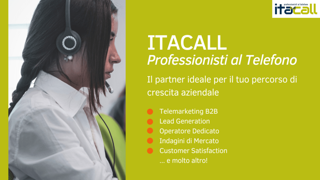 ITACALL: il tuo partner ideale!